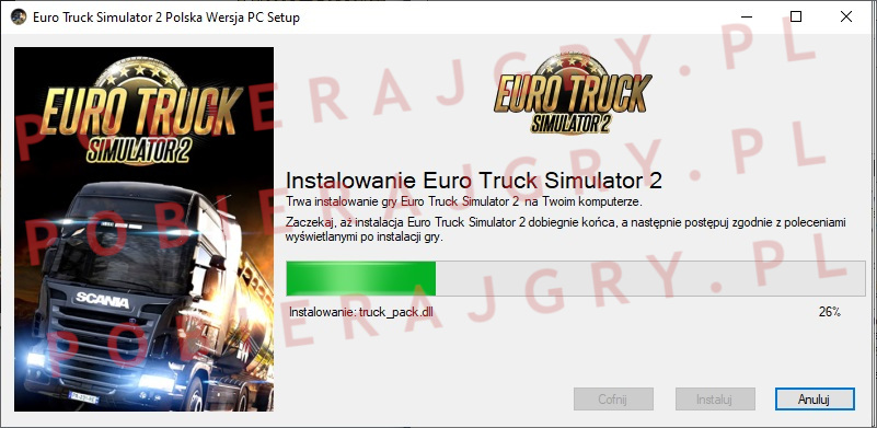 Instalator 5 Euro Truck Simulator 2