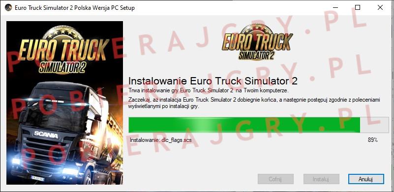 Instalator 6 Euro Truck Simulator 2