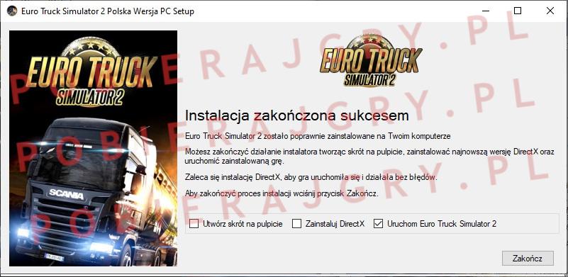 Instalator 7 Euro Truck Simulator 2