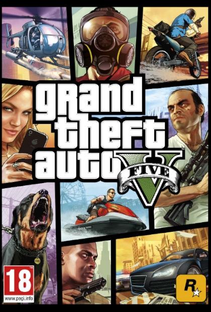 GTA 5 okładka