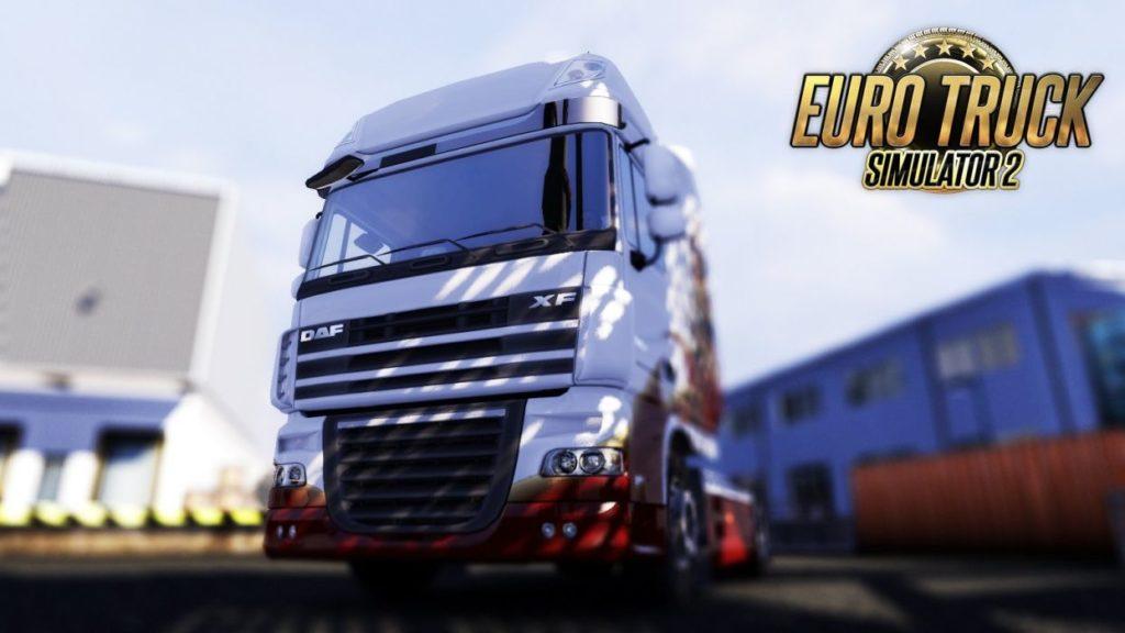 Euro Truck Simulator 2 tło