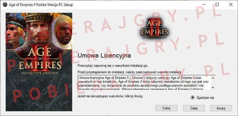 Age of Empires 2 instalator 2