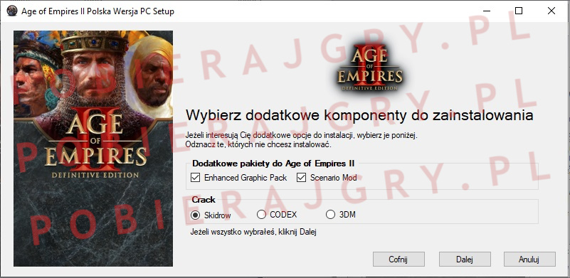Age of Empires 2 instalator 3