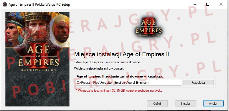 Age of Empires 2 instalator 4