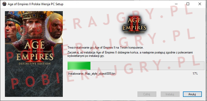 Age of Empires 2 instalator 5