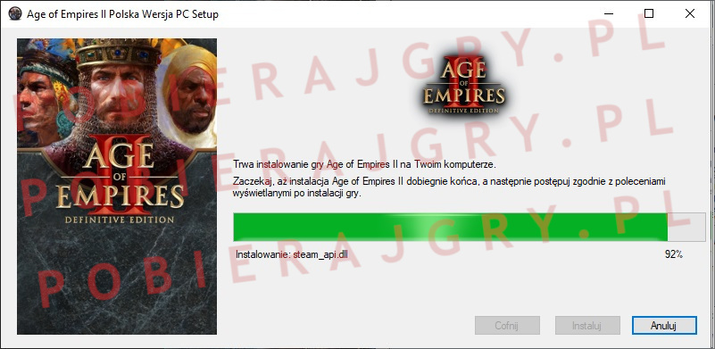 Age of Empires 2 instalator 6