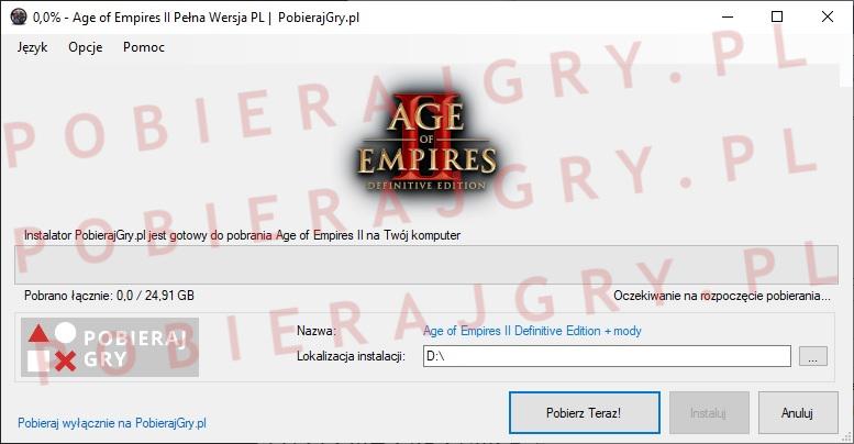 Age of Empires 2 pobieranie