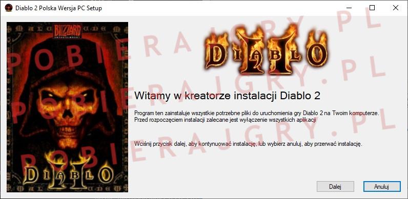 Diablo 2 Instalacja 1