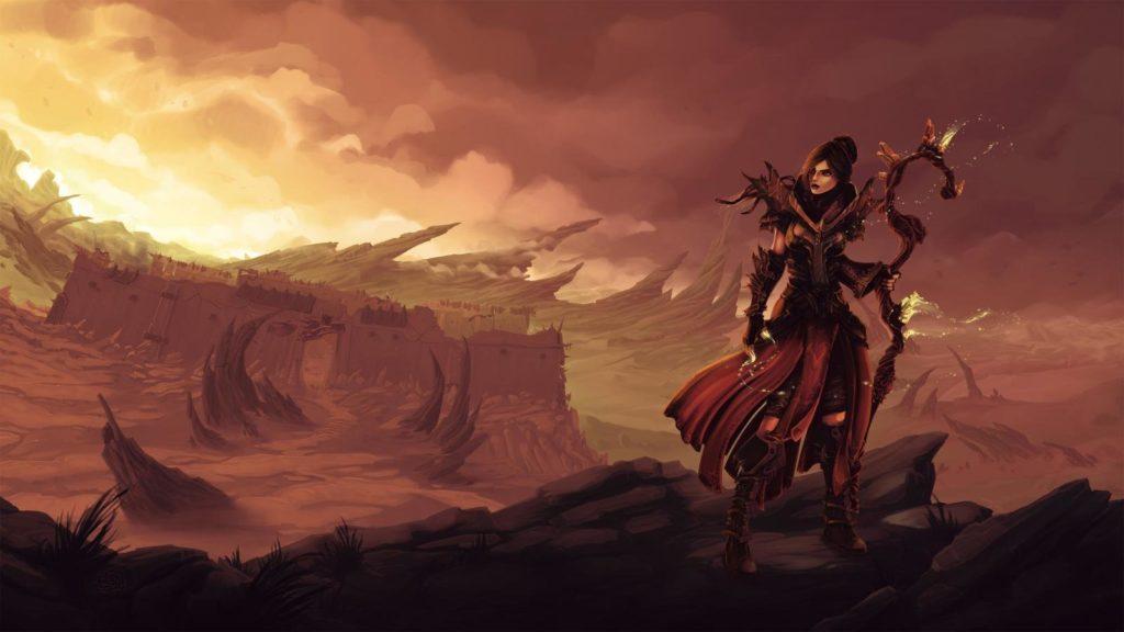 Diablo 3 Tło