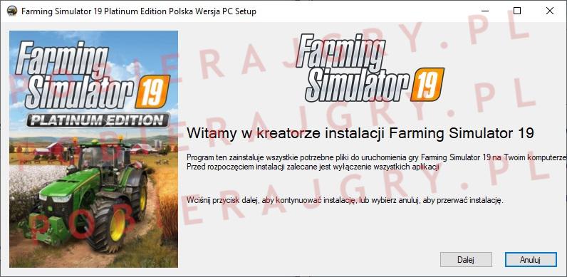 Farming Simulator 19 instalator 1