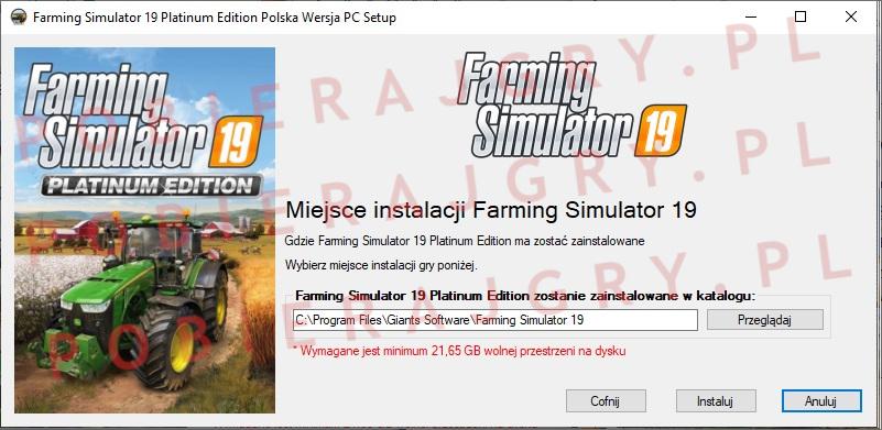 Farming Simulator 19 instalator 4