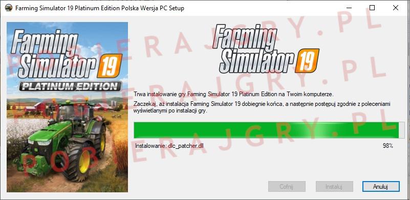 Farming Simulator 19 instalator 6