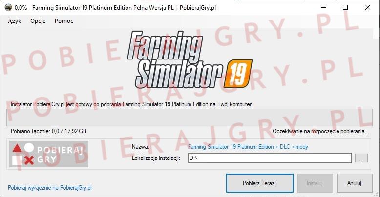 Farming Simulator 19 pobieranie