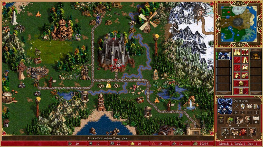 Heroes 3 gameplay