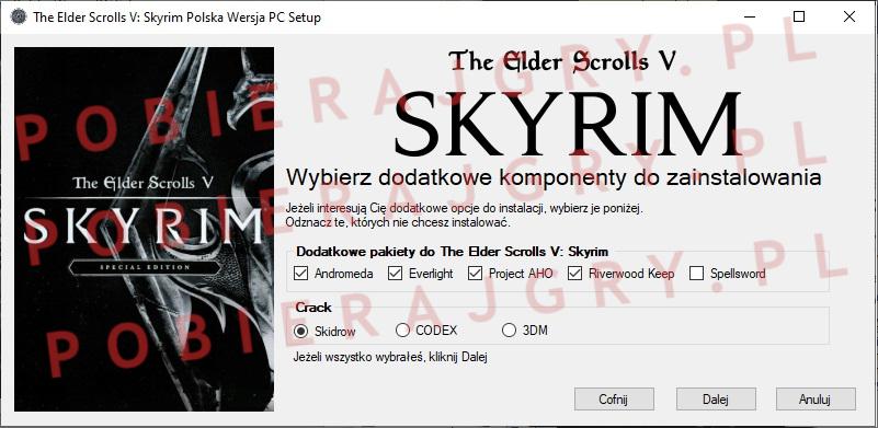 Skyrim Instalator 3