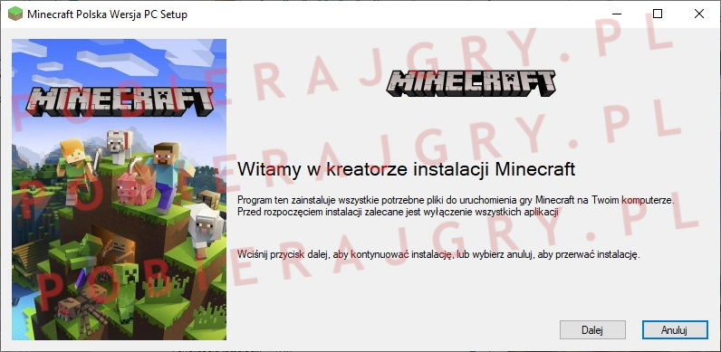 minecraft instalator 1