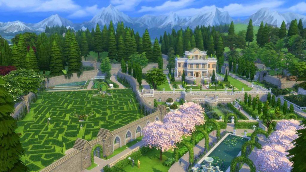 Sims 4 tlo