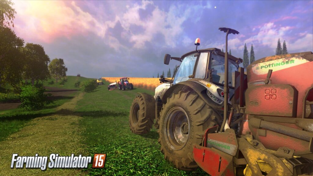 Farming Simulator 15 game