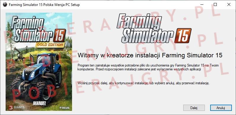 Farming Simulator 15 instalator 1
