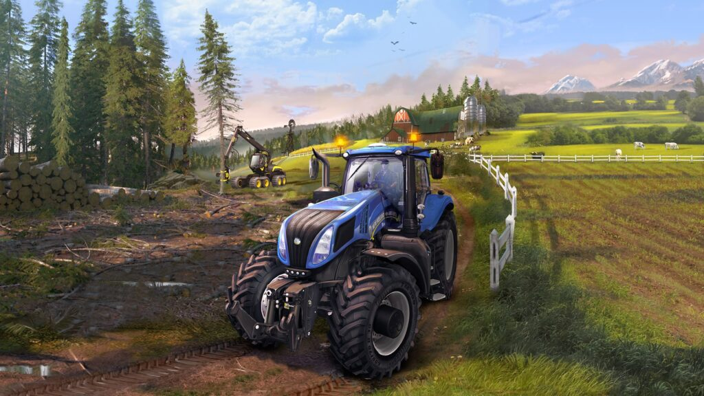 Farming Simulator 15 tapeta