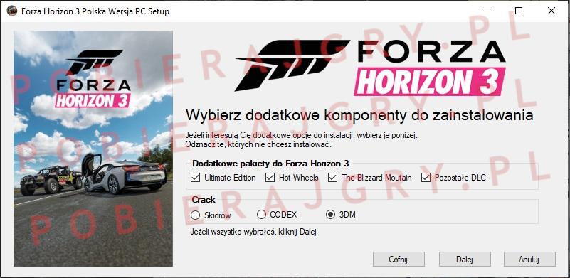 Forza Horizon 3 Instalator 3