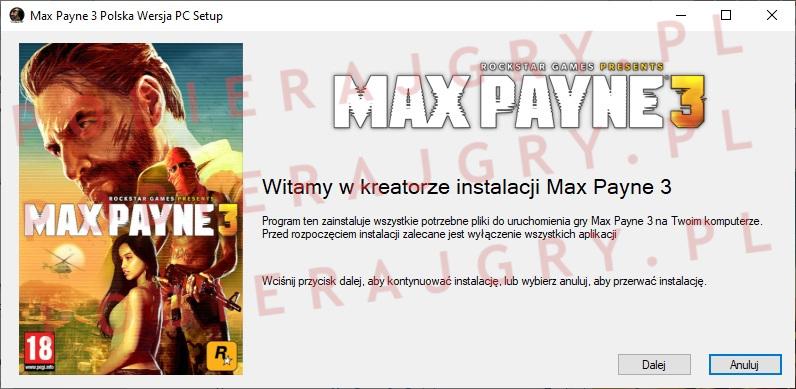 Max Payne 3 Instalator 1