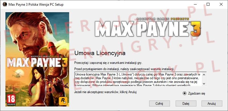 Max Payne 3 Instalator 2