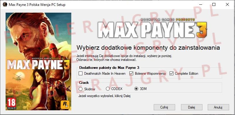 Max Payne 3 Instalator 3