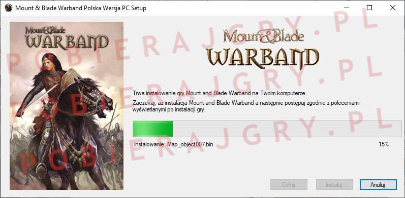 Mount and Blade warband instalator 5