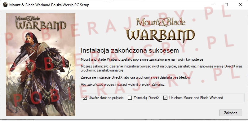 Mount and Blade warband instalator 7