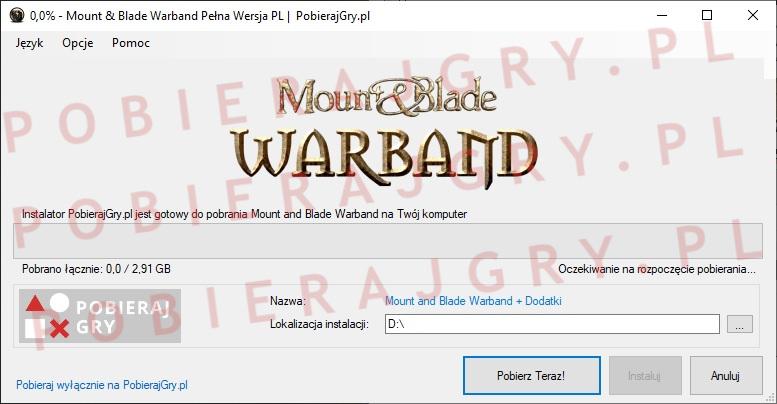 Mount and Blade warband pobieranie