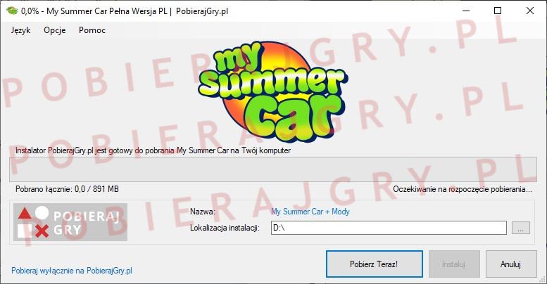 My Summer Car Pobieranie