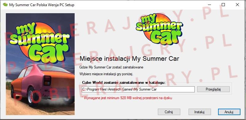 My Summer Car instalacja 4