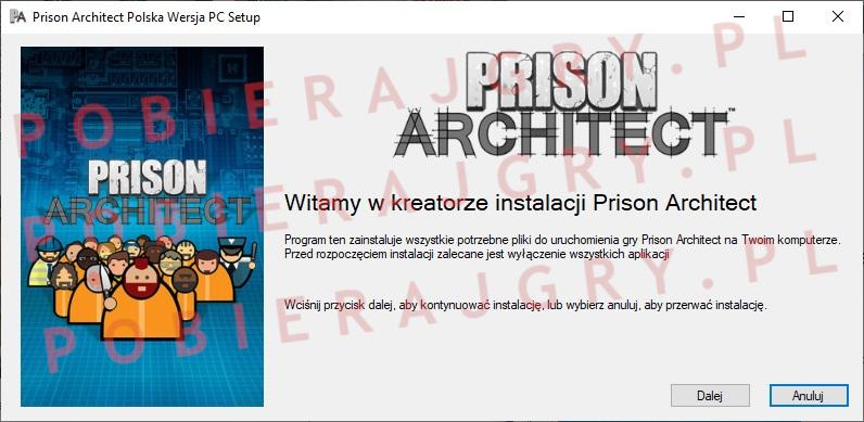 Prison Architect instalacja 1