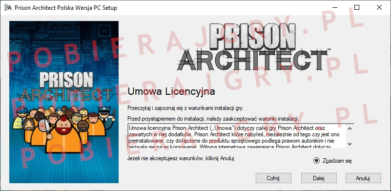 Prison Architect instalacja 2