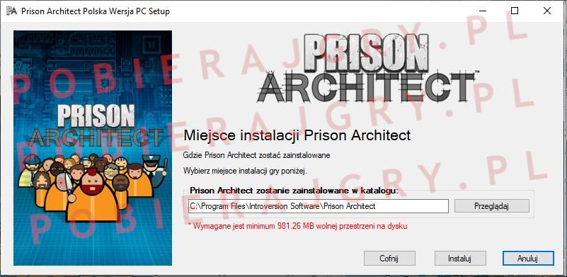 Prison Architect instalacja 4