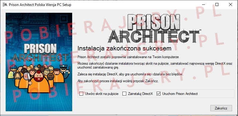 Prison Architect instalacja 7
