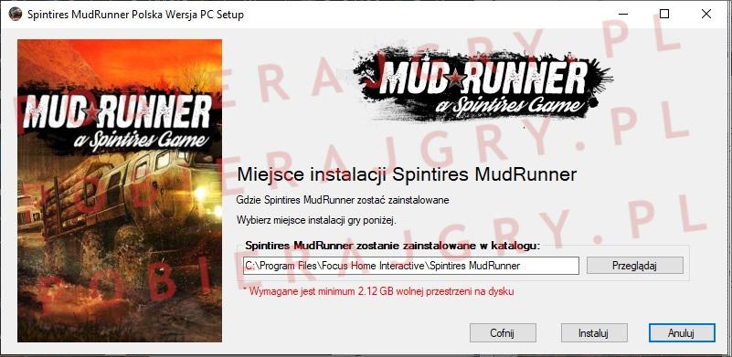 Spintires MudRunner instalacja 4