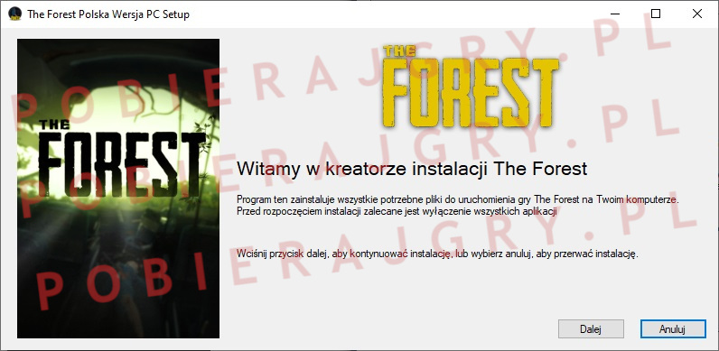 The forest instalator 1
