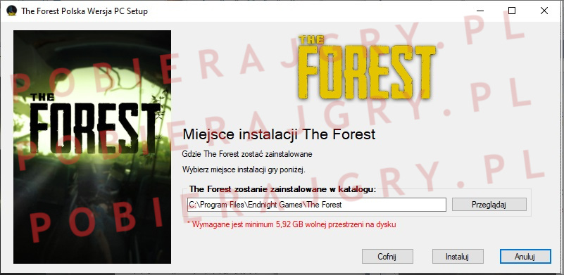 The forest instalator 4