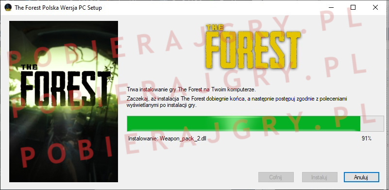 The forest instalator 6