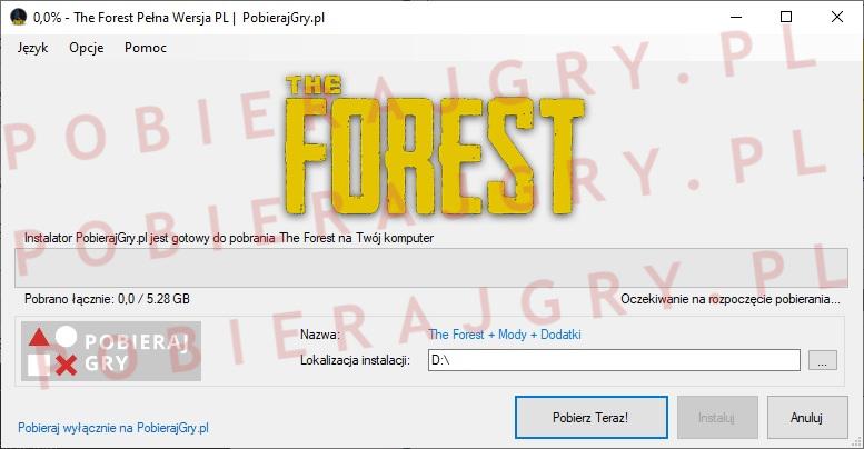 The forest pobieranie