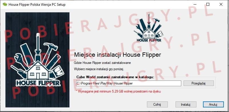 house flipper instalacja 4