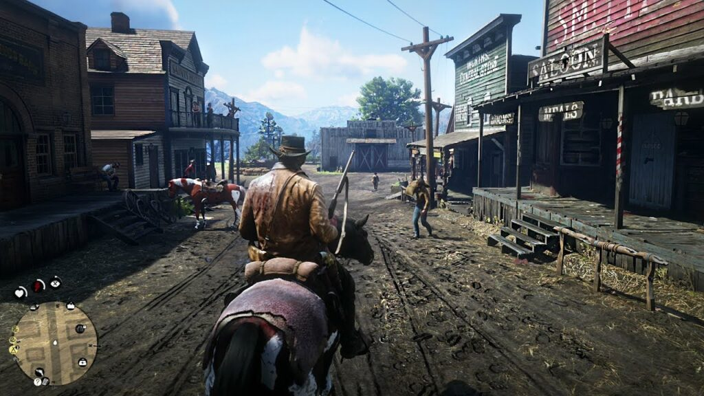 red dead redemption 2 gra1