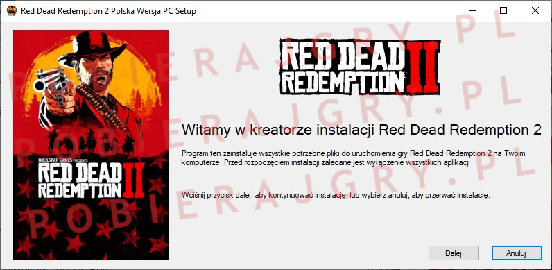 red dead redemption 2 instalator 1