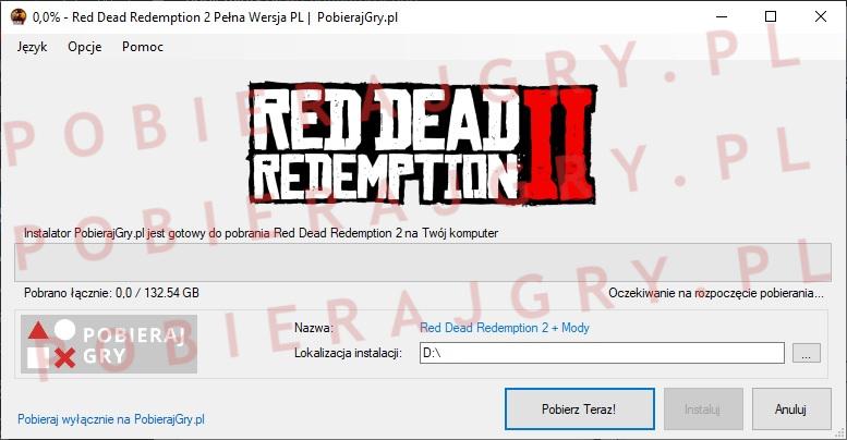 red dead redemption 2 pobieranie