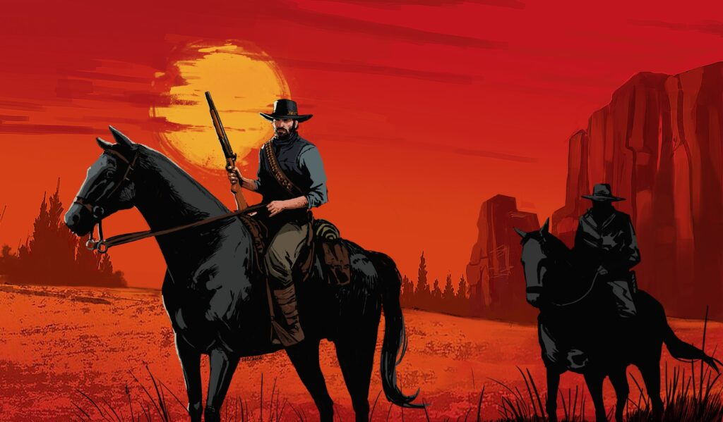 red dead redemption 2 tapeta
