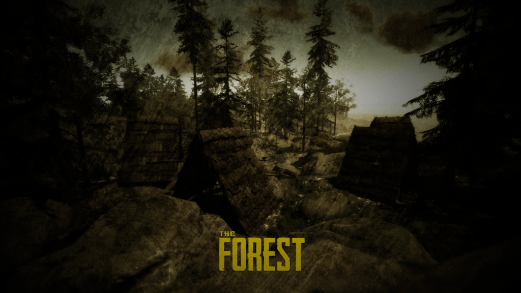 the forest tapeta