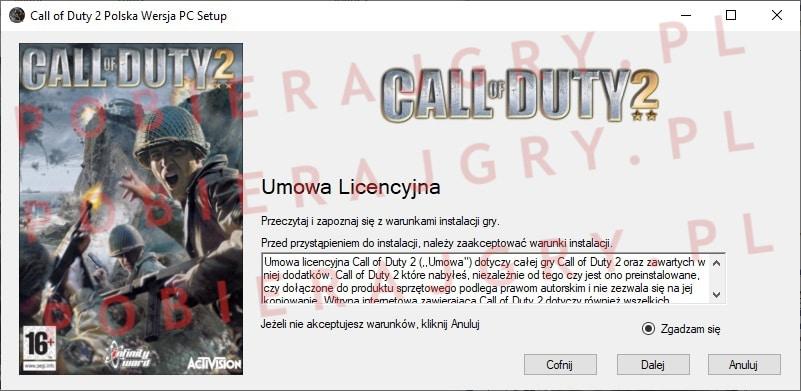 Call of Duty 2 instalacja 2