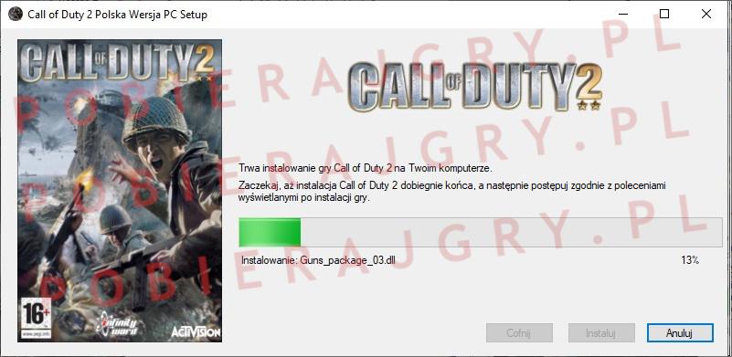 Call of Duty 2 instalacja 5
